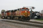 CBQ 3006 BNSF 4791 5466 761